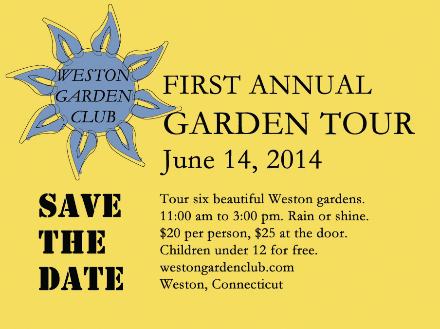 Garden Tour SAVE THE DATE