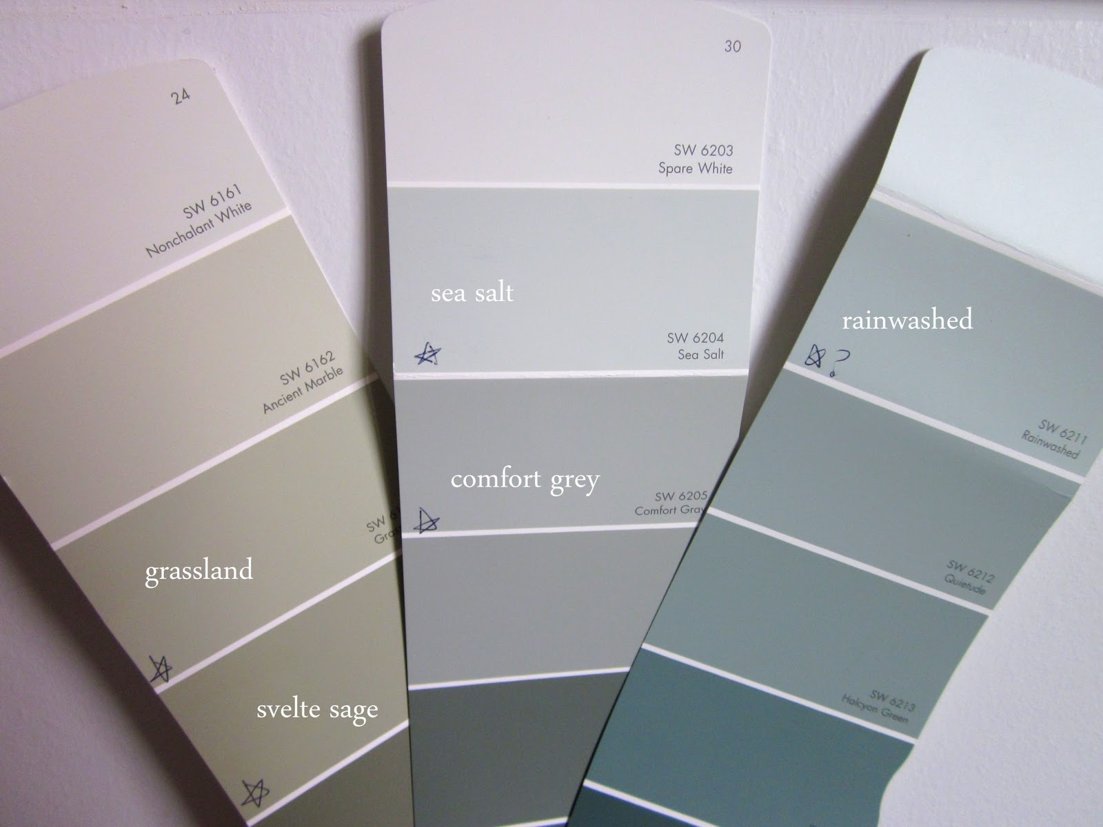 Sherwin Williams Rainwashed And Sea Salt Ann Nyberg S Network Connecticut Let S Start Talking