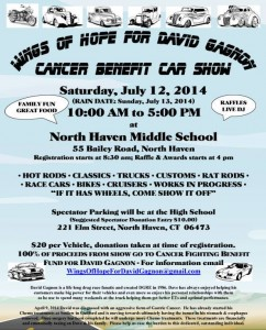 Cancer Benefit Car Show ~ July 12