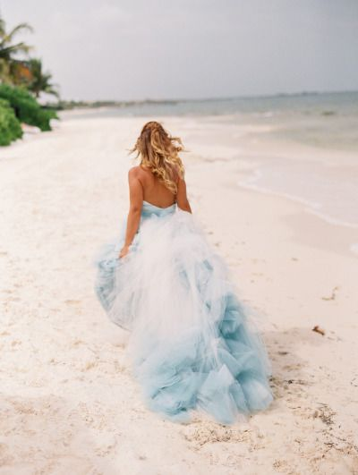 ombre-blue-tulle-ball-gown-beach-bridal-dress