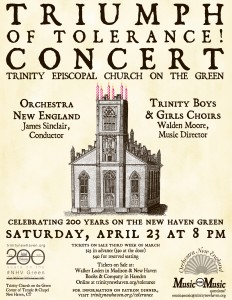 Come Hear Beautiful Music At Trinity Episcopal Church On The Green