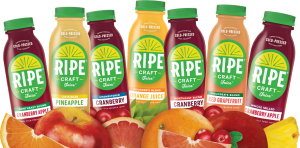 RIPE Craft and Bar Juices Made in Connecticut