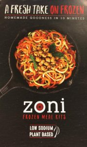 Zoni Foods, A Healthy Meal in 10 minutes