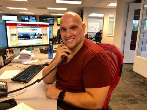 """""""Fireside Chats With Nyberg"""" Featuring WTNH-TV Marketing Producer Fabio LoNero"""